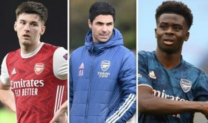 Arsenal boss Mikel Arteta must build team around six players with five gaps to fill