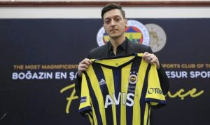 Arsenal's staggering contribution to Mesut Ozil's £350,000-a-week wages at Fenerbahce